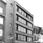 Flatgebouw La Chapelle in Antwerpen-Berchem, door Léon Stynen, 1935.